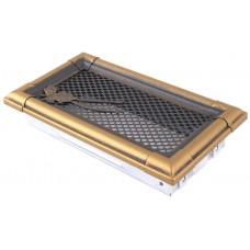 Retro ventilācijas restes, zelta patina