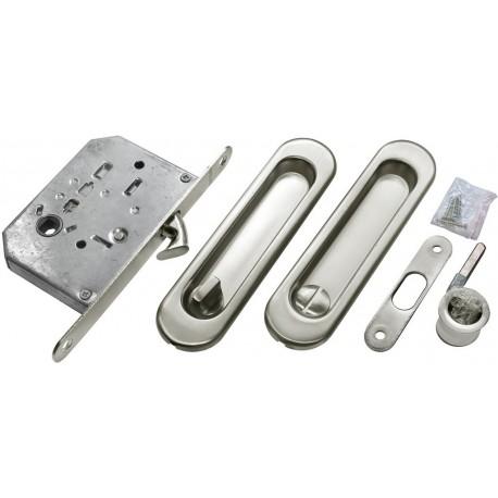 Bīdāmo durvju furnitūras komplekts MHS 150 WC SC