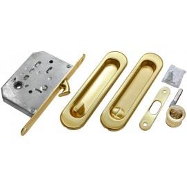 Bīdāmo durvju furnitūras komplekts MHS 150 WC SG