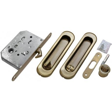 Bīdāmo durvju furnitūras komplekts MHS 150 WC AB