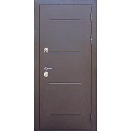 Metāla durvis ISOTERMA, antīks varš