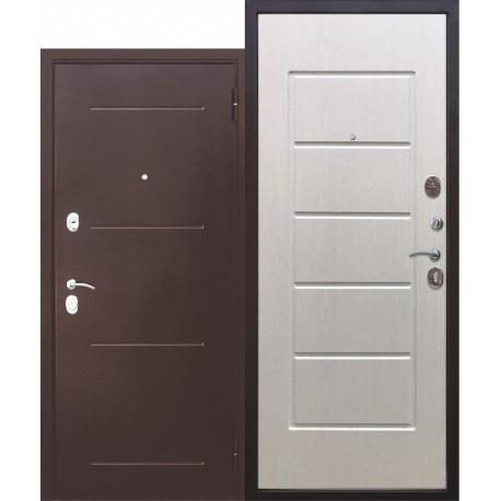 Metāla durvis GARDA, antīks varš / balts osis
