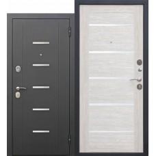 Metāla durvis GARDA MUAR, muar melns