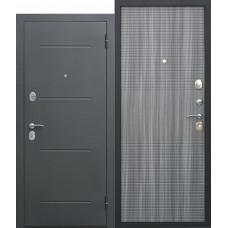 Metāla durvis GARDA M, muar melns