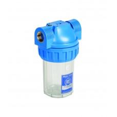 """5"""" Filtru korpusi aukstajam ūdenim - 3 dalīgie, ar uzgriezni Aquafilter FHPR5 sērijas"""