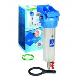 """10"""" Filtru komplekti aukstajam ūdenim - 3 dalīgie, ar uzgriezni Aquafilter FHPR-3V_R sērijas"""