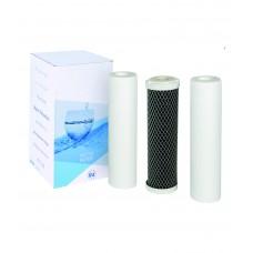 Dzeramā ūdens filtrācijas sistēmu kartridžu komplekti -  FP3-CRT maiņas komplekti